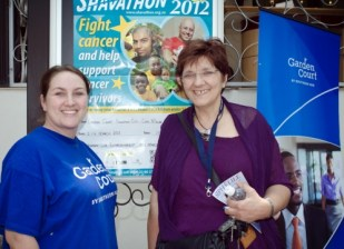Sue Jv Rensburg, CEO of CANSA (cancer survivor for 28 years)