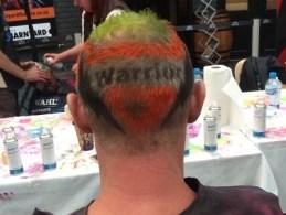 Warrior against cancer