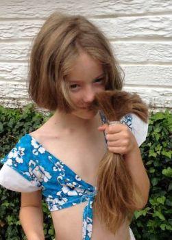 Sophie's ponytail
