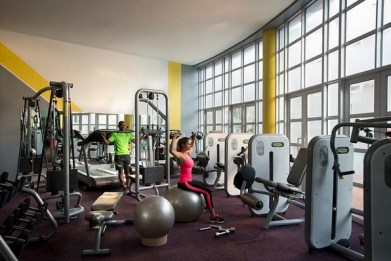 The Commodore Hotel gym