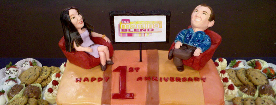 FI Morning Blend Anniversary Cake 2011