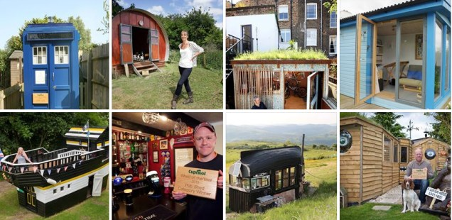 The finalists for Shed of the Year 2013 announced