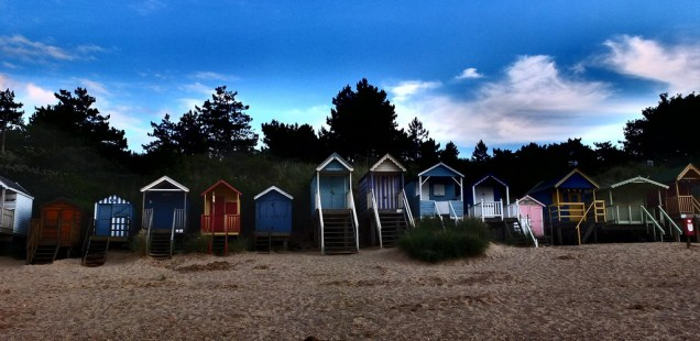 Sheds by the sea - Norfolk