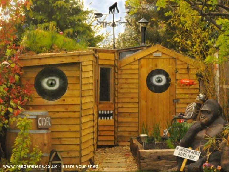 Stencil Shed