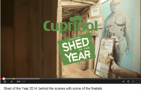 Shed of the Year 2014: Behind the scenes with some of the finalists