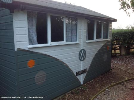 I love sheds I love Campervans - Guess what I love this!