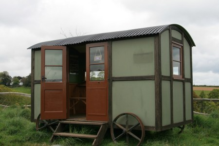 We love a shepherds hut - so why not build your own (from a kit)?