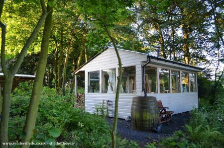 Amazing art studio shed in beautiful Fife countryside