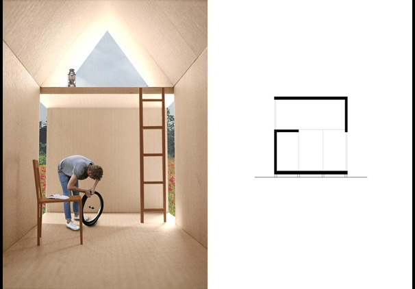 UK Architecture graduate win competition to design French Bike Sheds