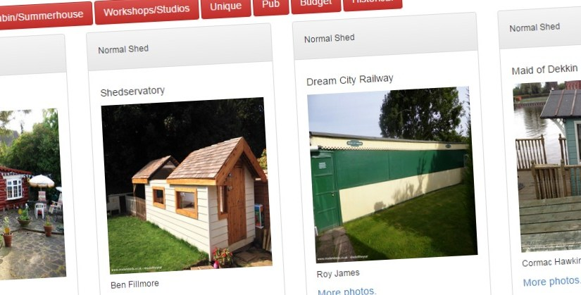 Shed of the year 2015 shortlist revealed – Public voting opens to decide the category winners