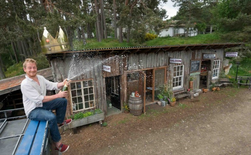 Q & A with Shed of the year 2015 Winner Walter Micklethwait of Inshriach Distillery
