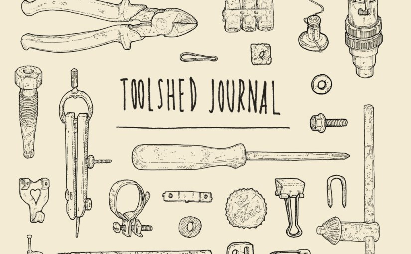 The Toolshed Journal and Colouring Book by John Lee Phillips