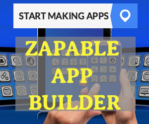 ZAPABLE Build Your Own Apps