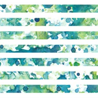 Splatter Stripe. Watercolor/digital surface design. © 2017 Sheila Delgado