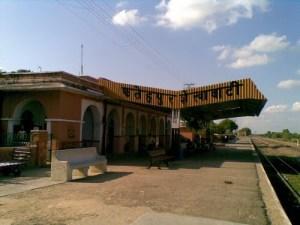 Fatehpur Shekhawati  Railway Platform
