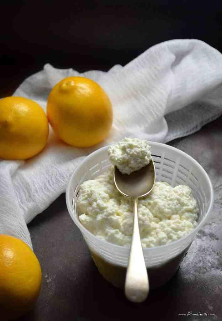 ... the bottom for a Creamy Homemade Fresh Ricotta Cheese video recipe