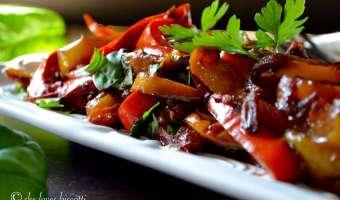 Italian Bell Pepper Stew Recipe (Peperonata)