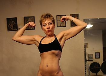 ebony fitness models