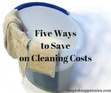 Five Ways to Save on Cleaning Costs