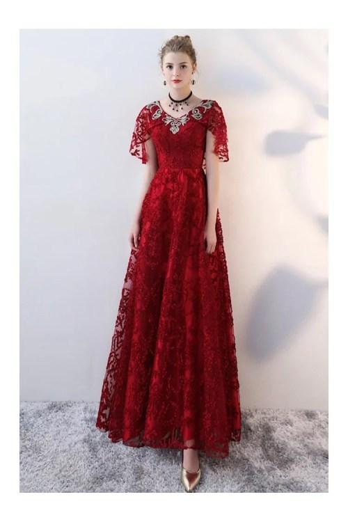 Medium Of Long Red Dress