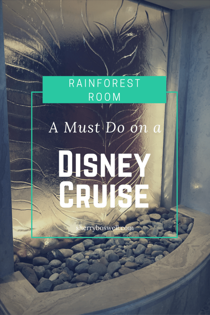 rainforest room must do disney cruise