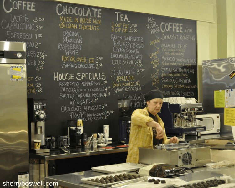 10 things to do in Asheville Chocolate Gems