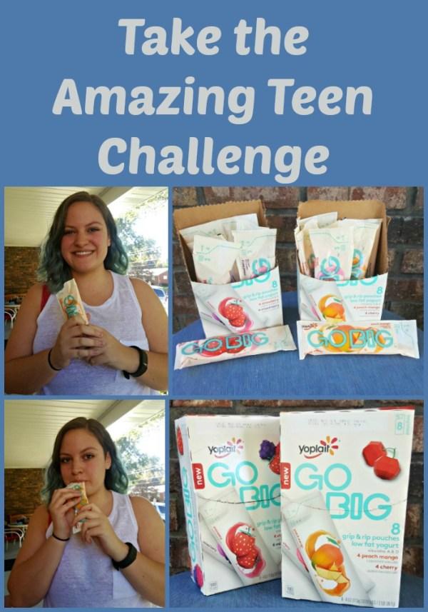 Take the Amazing Teen Challenge