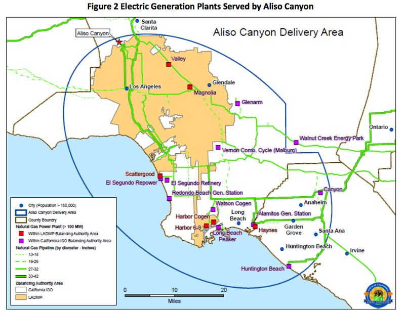Aliso Canyon Risk Assessment Report for Summer 2016 Released