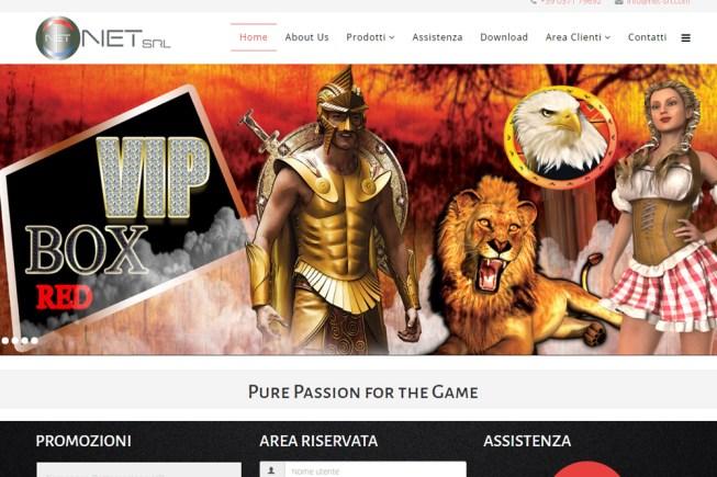 Nuovo sito web Net Srl
