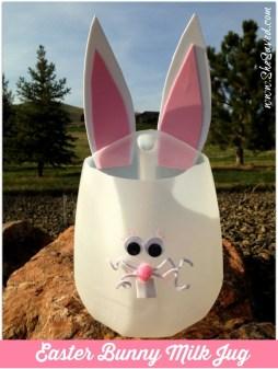 Milk Jug Easter Craft Instructions