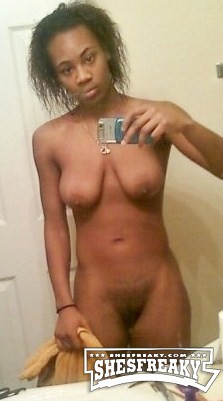 nude ebony women selfies