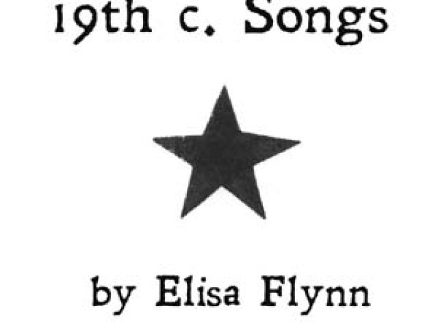 Mailbag: Elisa Flynn – 19th Century Songs