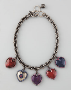 Buy Lanvin – Heart Charm Necklace from Neiman Marcus