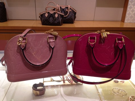 Louis Vuitton Alma BB in new Monogram Venis colors