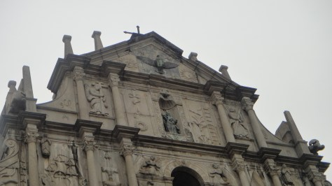 Carvings on the facade