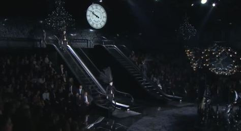 Louis Vuitton Spring and Summer 2014 Clock and Escalators