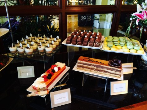 Desserts at Motif