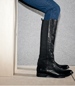 Frye Molly Gore Leather Boots