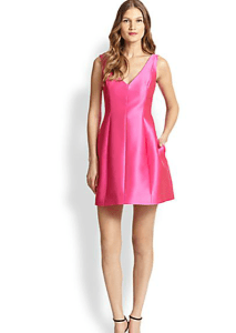 Kate Spade New York - Structured Mini Dress