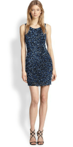 Parker Kenzie Sequined Body Con Dress