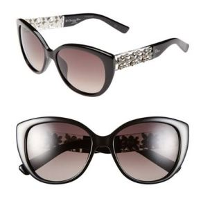Dior Mystere Special Edition Sunglasses w. Crystals
