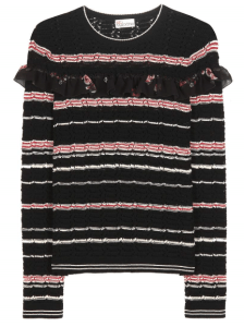 RedValentino Striped Knitted Sweater