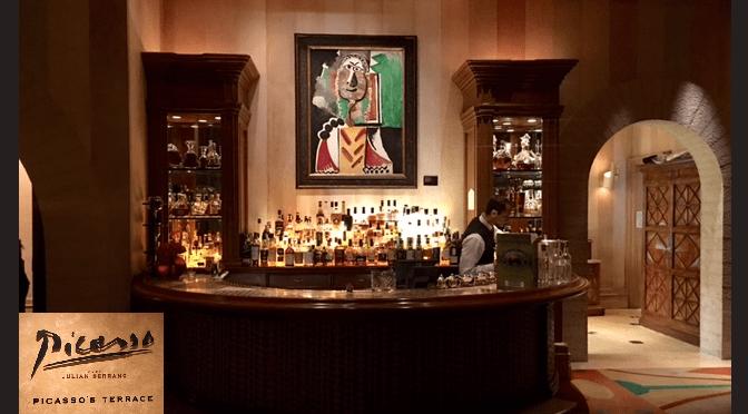 The Picasso Restaurant at the Bellagio Hotel In Las Vegas