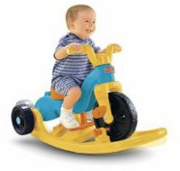 Fisher Price Rock, Roll n Ride Trike Review