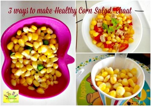3 ways to make corn salad