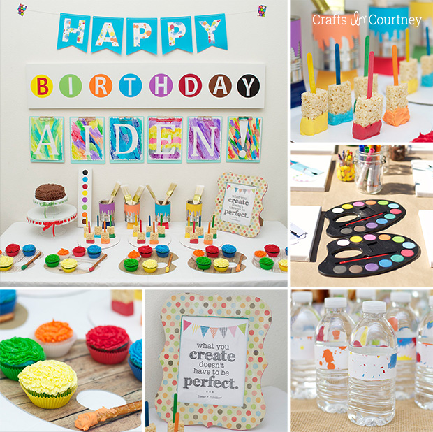 Unique First Birthday Party Ideas For Girls-No Princess