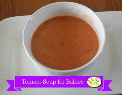Plain Tomato Soup for babies ( No salt)