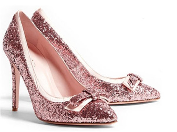 pink-glitter-bow-pumps