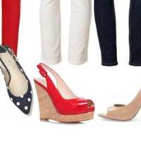 How to create 22 outfits from 3 pairs of shoes | Nautical-inspired capsule wardrobe