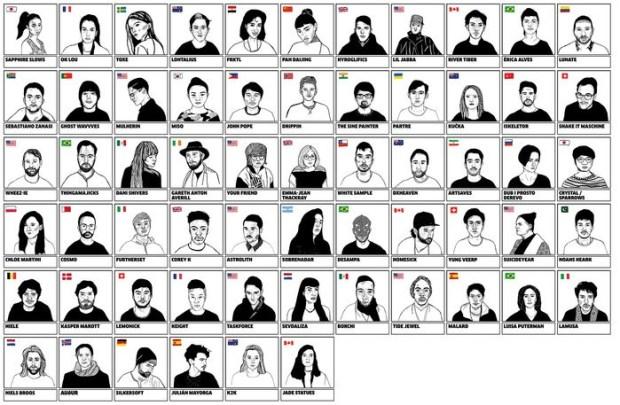 Orla con los confirmados para la Red Bull Music Academy